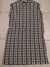 Asos black & white dress size 16