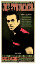 JOE STRUMMER DEATH OR GLORY Limited edition 3rd print CHUCK SPERRY 2003 NM
