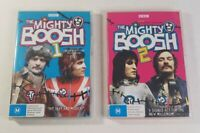 BBC The Mighty Boosh Season 1 and 2 DVD Pack 2 Disc Sets PAL Region 4 2006 2007