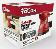 New Hyper Tough 2.4A Random Orbit Sander Sanding Disc Woodworking Power Tool