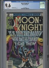 MOON KNIGHT #7 NM 9.6 CGC WHITE PAGES MOENCH STORY SIENKIEWICZ COVER AND ART