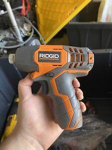 Ridgid R82230N 1/4 Inch 12 Volt Lithium Ion 1,100 In. Lbs. Impact Driver