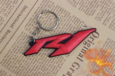 For R1 Yamaha YZF-R1 Soft Rubber Motorbike Key Ring Keychain New