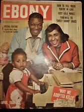 "1960 Ebony Magazine.Death of ""Sweet Daddy Grace"", Nat King Cole Family"