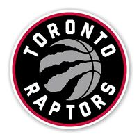 Toronto Raptors Round Precision Cut Decal