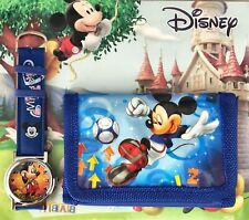 Mickey Mouse Watch and Wallet Boy's Girls Gift Set Kids Party  Christmas Present