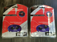 2 Pack Varad Vision LED Headlight Flashers Visual Theft Deterrence Purple HLF107