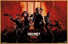CALL OF DUTY - BLACK OPS - ZOMBIES POSTER 22x34 - VIDEO GAME 16840