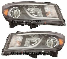 FITS KIA SEDONA 2015-2016 HEADLIGHTS HEAD LAMPS LIGHTS W/O LED PAIR LEFT RIGHT
