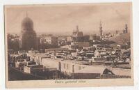 Egypt, Cairo, General View Postcard, B201