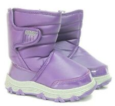 Khombu Juniper Winter Snow Boots with Thermolite Insoles - Size UK 4 - Purple