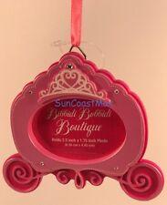 Disney Parks Bibbidi Bobbidi Boutique Christmas Ornament Photo Holder w/gift box