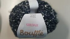 Sirdar Bouffle #725 Tempest Charcoal Soft & Light Chunky Yarn 50g