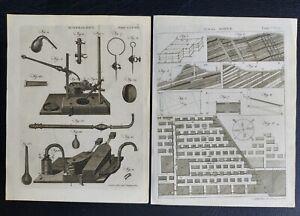 25 Mining Sciences Copper Plates 1768–1824 Encyclopedia Britannica Editions