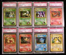 1-16 Pokemon Japanese Gym 2 Challenge PSA 10 Complete Holo Set Charizard Mewtwo