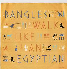 "Bangles - Walk Like An Egyptian 7"" Single 1985"