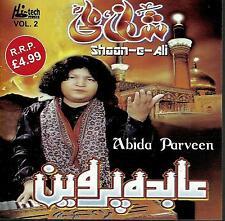 ABIDA PARVEEN - SHAAN E ALI - VOL 2 - NEW SOUND TRACK CD