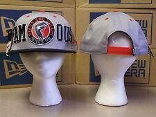 FAMOUS TIP OFF GRAY/ORANGE/BLACK OSFA ADJUSTABLE SNAPBACK HAT