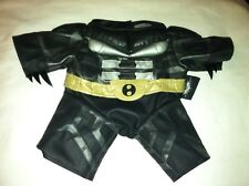 Build a Bear Black/Sliver/Tan Belt Batman Suit 'Then Dark Knight Rises'