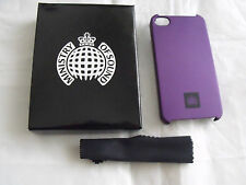 Ministry Of Sound Hard Shell Case Cover iPhone 4 Pink and Purple Available
