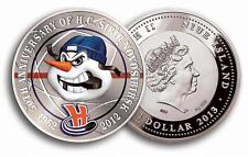 NIUE ISLAND: 1 dollar 2013 silver HOCKEY - SIBIR NOVOSIBIRSK 50 th anniversary