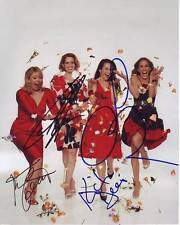 SEX AND THE CITY Signed CAST Photo w/ Hologram COA SARAH JESSICA PARKER + 3
