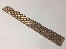 Used - Armis Strap Vintage - Golden Steel - Acero Dorado - For Watches 16 mm