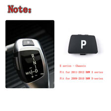 """For BMW E Chassis 3"""" 5""""  Gear Shift Knob Lever P Button Cover 61319168849"""