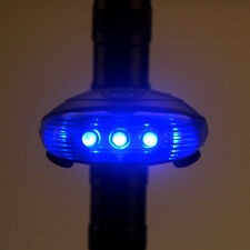 Blue LED Cycling Bicycle Bike Laser Light Beam Rear Back Tail  Lamp Waterproof