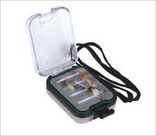Aventik Double Side Clear Lid Pocket Fly Box 100% Waterproof FlyBox3.8X2.7X1.4in