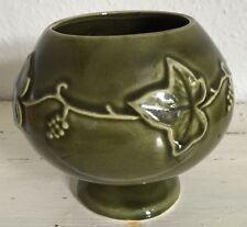 Dartmouth ceramica verde Ivy pagano DECORATO VASO/CIOTOLA