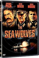 NEW DVD // THE SEA WOLVES -  Gregory Peck, David Niven, Roger Moore, Mohan Agash