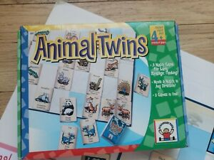 Discovery Toys Animal Twins Matching Game 2006 homeschool