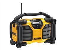 DeWalt DEWDCR017 XR DAB Radio & Charger 240 Volt & Li-Ion Bare Unit
