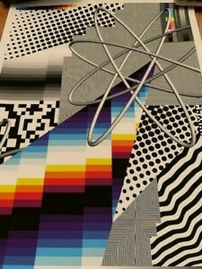 Felipe Pantone Optichromie 122 Signed Rare 160/250 Beyond the Streets Sold Out