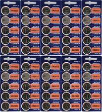 50 NEW  Fresh SONY CR2032 DL2032 ECR2032 CMOS Lithium 3V Watch Battery Exp 2027
