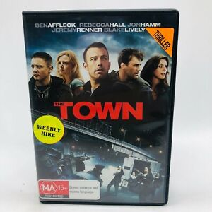The Town (DVD, 2011) Region 4 With Ben Affleck In Very Good Condition