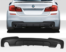BMW 5 series F10 F11 M sport 535i 535d M performance rear bumper diffuser new UK