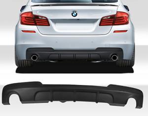 BMW 5 series F10 F11 M sport 535i 535d M performance rear bumper diffuser new UK