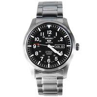 Seiko Men's SNZG13 Seiko 5 Automatic Stainless-Steel Bracelet Watch SNZG13K1