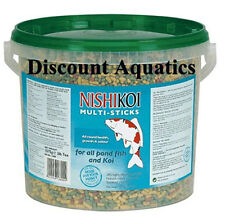 NISHIKOI MULTI STICKS 1575G  BUCKET POND FISH FOOD GOLDFISH KOI