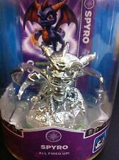 *Very Rare* Chrome Silver Spyro Skylanders E3 Exclusive Collectors -Read Details