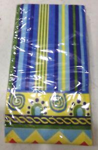 16ct Aztec Southwest Party Paper Guest Buffet Napkins Towels Bath/Kitchen NIP