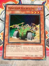 Carte YU GI OH PATROUILLEUR, ALLIE DE LA JUSTICE HA02-FR009 x 3