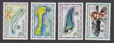 KIRIBATI 1999 INDEPENDENCE MAPS AIRCRAFT EARHART AVIATOR SET MNH