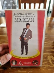 The Amazing Adventures of Mr Bean - VHS Tape *Complete*