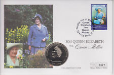 More details for isle of man pnc coin cover 2002 queen mother memorial guernsey £5 coin 1273
