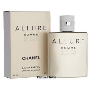 CHANEL ALLURE HOMME EDITION BLANCHE MEN * 3.4 oz (100 ml) EDP Spray NEW & SEALED
