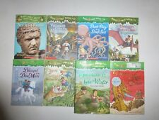 Lot of 8 Children's Books Magic Tree House Series by Mary Pope Osborne PB & HB