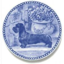 Dachshund - Wirehaired - Dog Plate made in Denmark from the finest European Porc